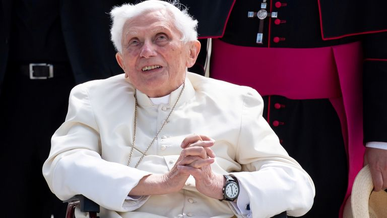 Former Pope Benedict XVI is said to be seriously ill