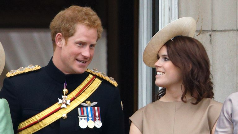Prince Harry and Princess Eugenie were 'the closest of friends'