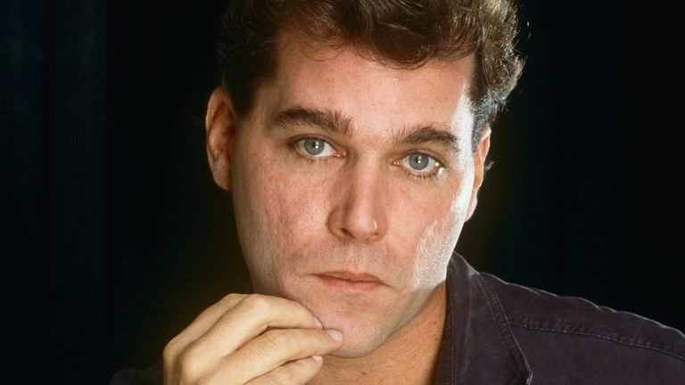 "LOS ANGELES, CA - 1990: Star of the Academy Award-nominated film ""Goodfellas,"" actor Ray Liotta, poses during a 1990 Los Angeles, California, photo portrait session. Liotta has also starred in ""Something Wild"" and ""Field of Dreams"""
