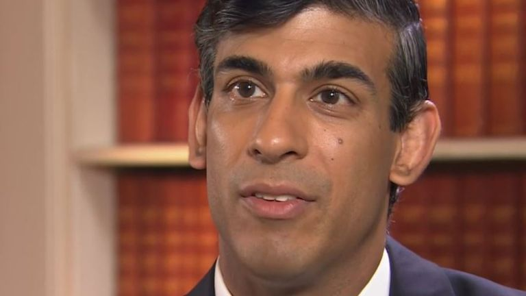 Rishi Sunak says that 'no one will be left without hope' as UK enters biggest recession ever