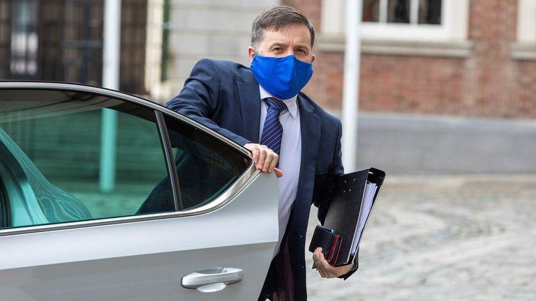 Northern Ireland health minister Robin Swann