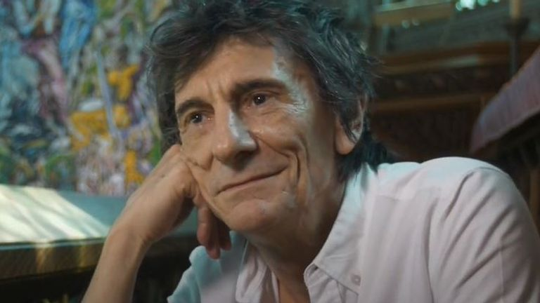 Ronnie Wood says The Rolling Stones have new music