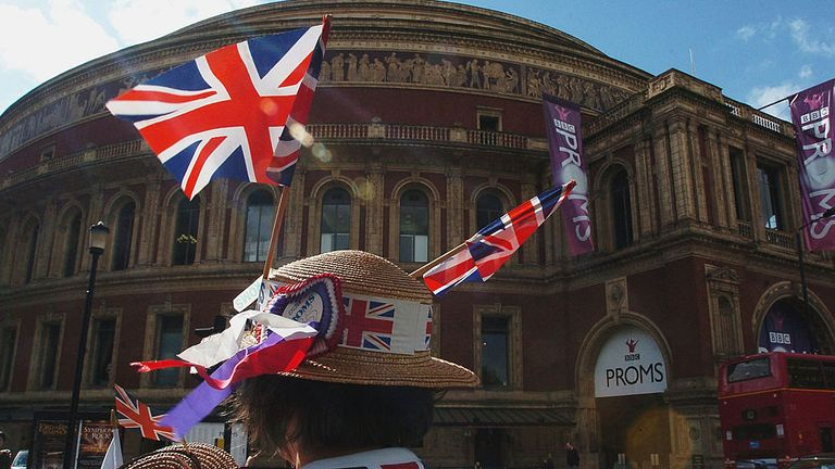 The Proms is watched live by an audience of over 6000