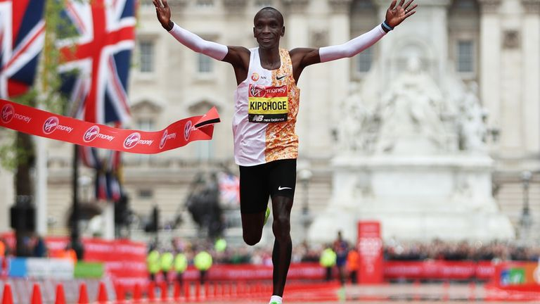 Eliud Kipchoge is expected to feature in the men's race