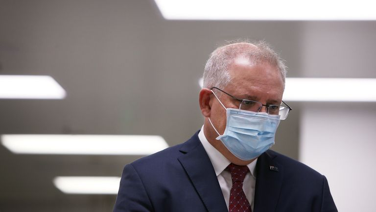 Prime Minister Scott Morrison announced a deal with AstraZeneca