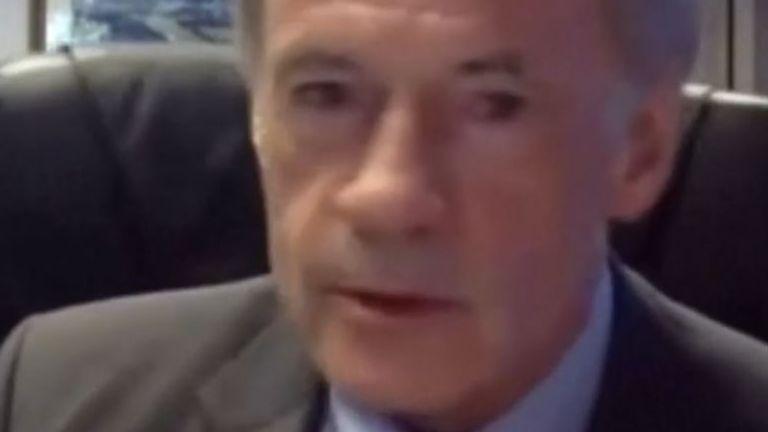 Senator Carper falls victim to the dreaded 'technical issues' scenario
