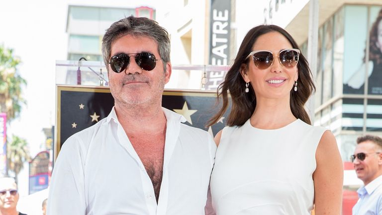 Cowell's partner, Lauren Silverman, accompanied him to the hospital