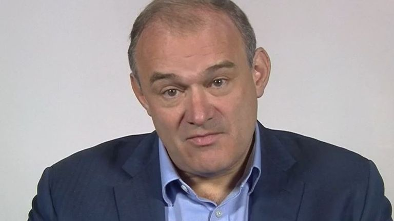 Sir Ed Davey will not be drawn on whether he has aspirations to become prime minister