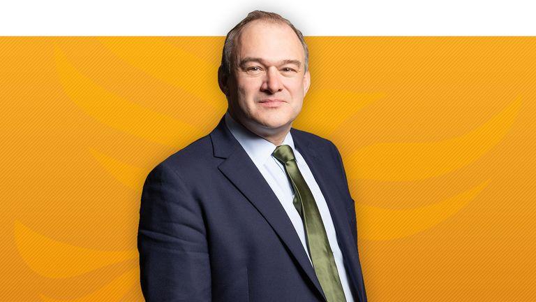 Liberal Democrat leadership contender Sir Ed Davey