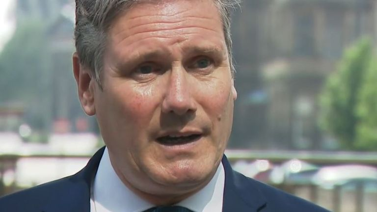 Sir Keir Starmer says that mock exams are not a good indicator of results