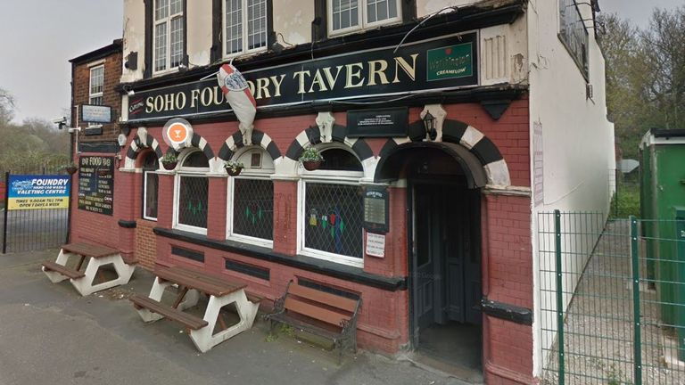 People who visited the The Soho Foundry Tavern in Smethwick have been told to self-isolate. Pic: Google Street View