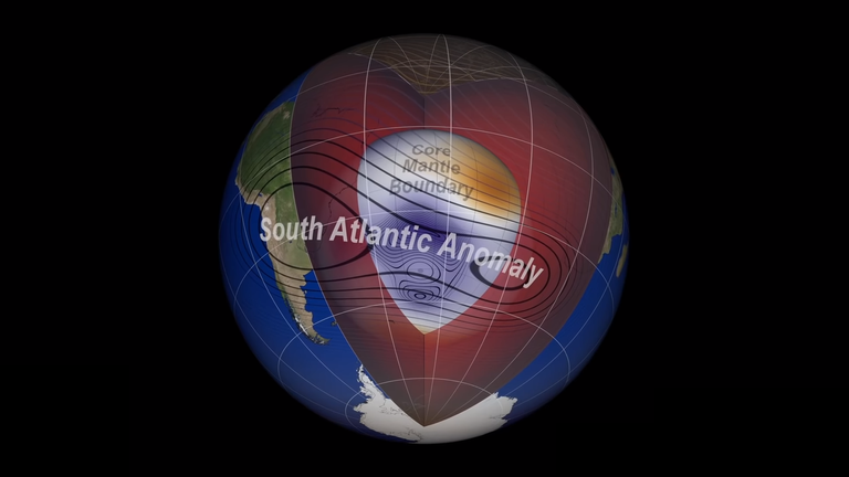 NASA is investigating the South Atlantic Anomaly
