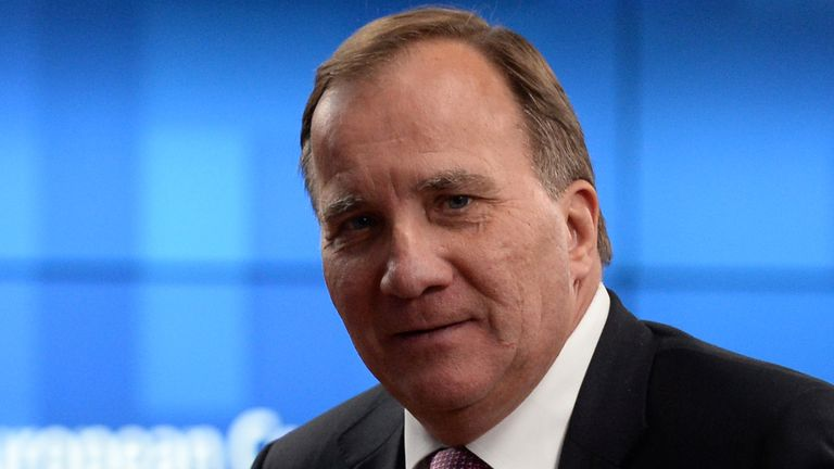 Sweden's Prime Minister Stefan Lofven says it was the right choice