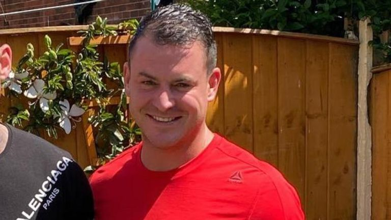 Steven McMyler was fatally kicked in the head while being attacked in the gardens of Wigan Parish Church shortly before 7.50pm on Thursday 6 August 2020.