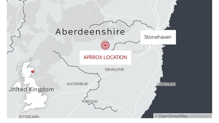 A ScotRail passenger train derailed near Stonehaven, Aberdeenshire