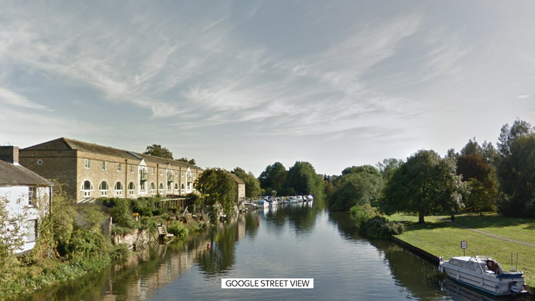 The bones were discovered in the River Stour in Sudbury