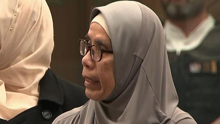 Noraini Milne's son Sayyad was killed by Tarrant