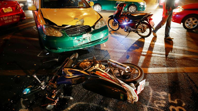 Thailand has one of the worst road death rates in the world