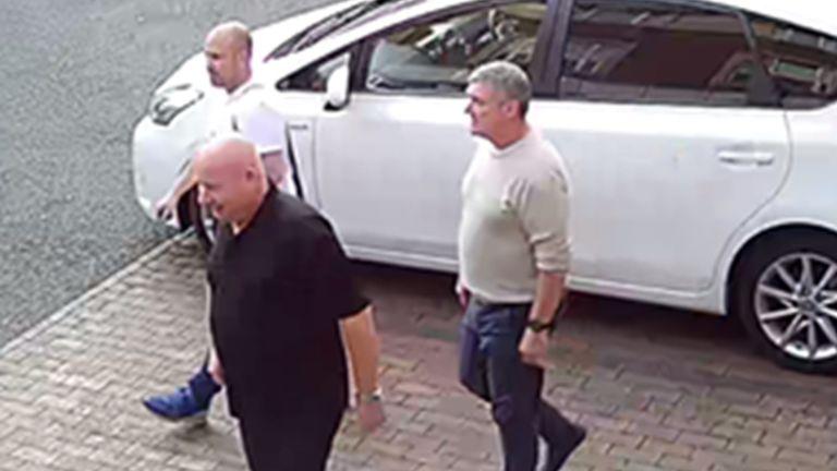 (L-R) Thomas Mee, 42, Vincent Ball, 52, and John Barlow, 58, burgled 14 properties