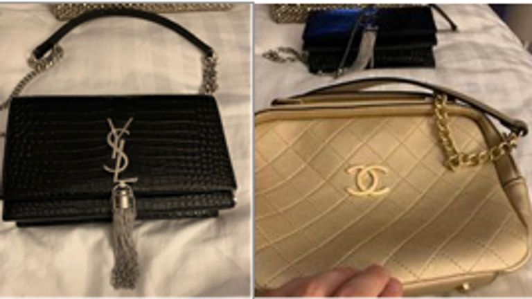 Photos of stolen handbags were found on a phone belonging to Thomas Mee