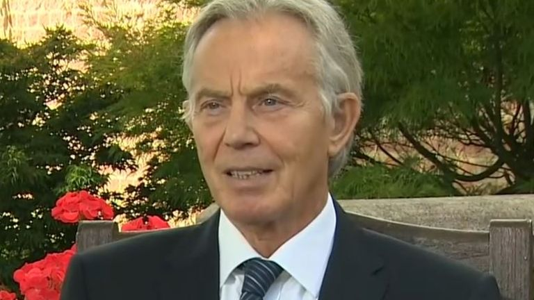 Tony Blair remembers 'political titan' John Hume