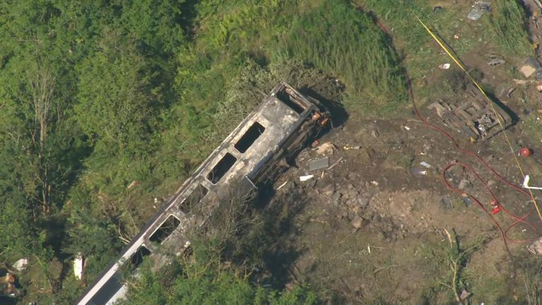 Three people are confirmed dead after the derailment