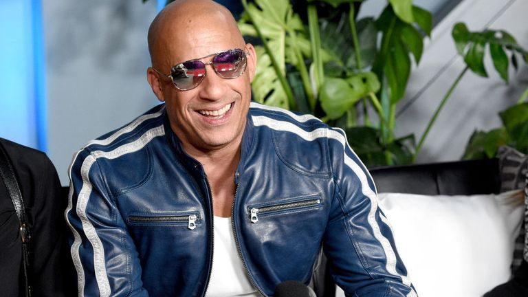 Vin Diesel is most famous for his appearances in the Fast & Furious films