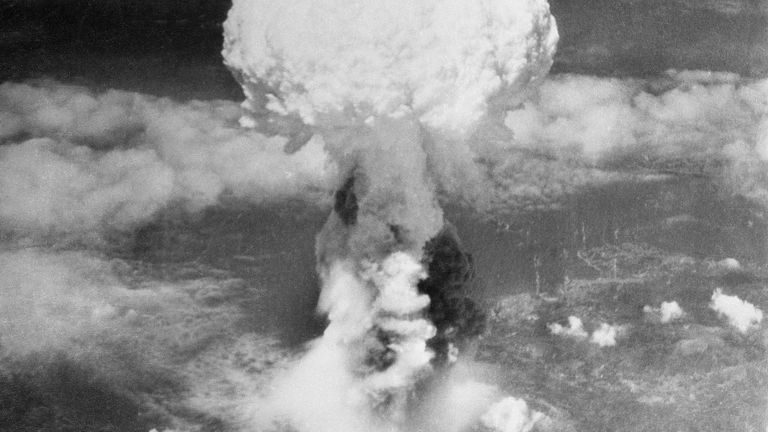 The US dropped an atomic bomb on Hiroshima, Japan on 6 August 1945