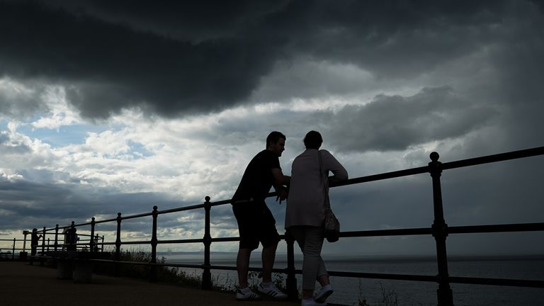 Storms are forecast to hit the UK - despite the soaring temperatures