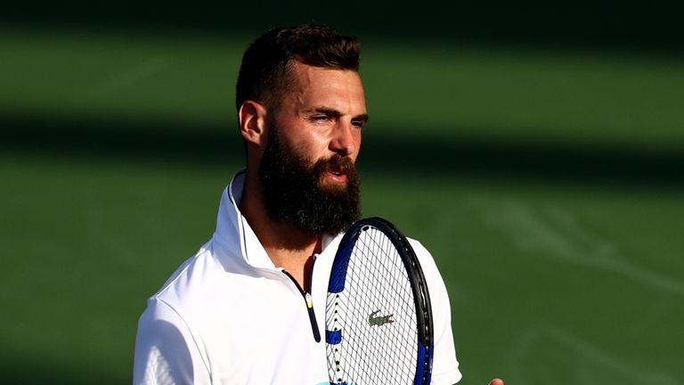 Benoit Paire retired from the  Western & Southern Open last week. after feeling unwell