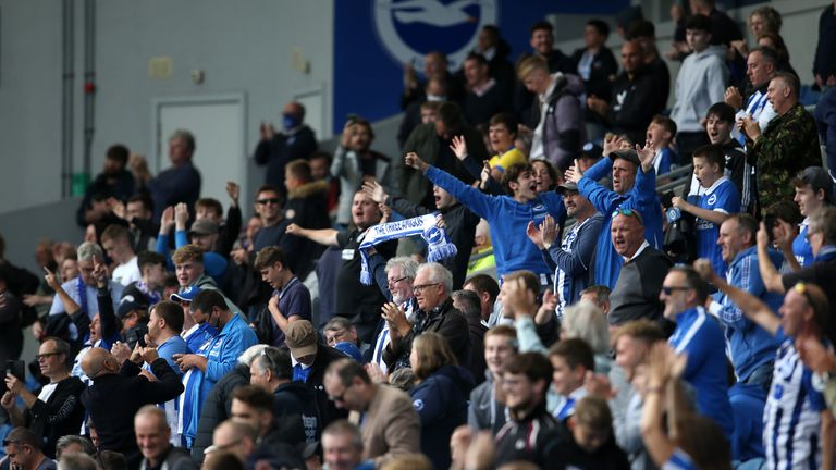 Fans made a welcome return as Brighton hosted Chelsea in a pre-season friendly on Saturday