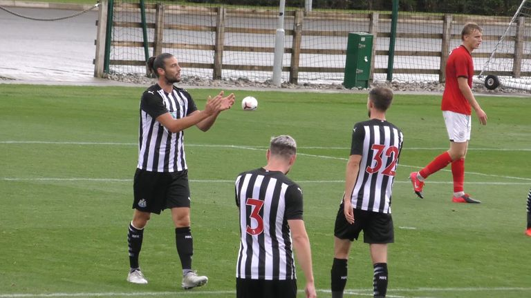 Highlights from the pre-season friendly between Newcastle and Crewe - including an Andy Carroll cracker!