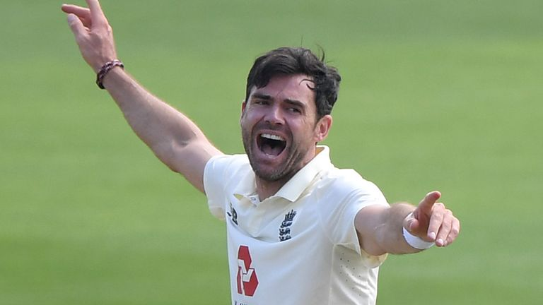 James Anderson, England, Test vs Pakistan at Ageas Bowl