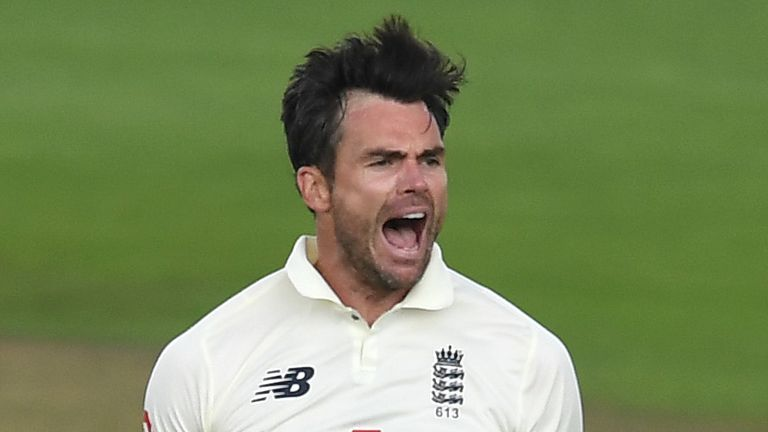 James Anderson, England, Test vs Pakistan at Ageas Bowl