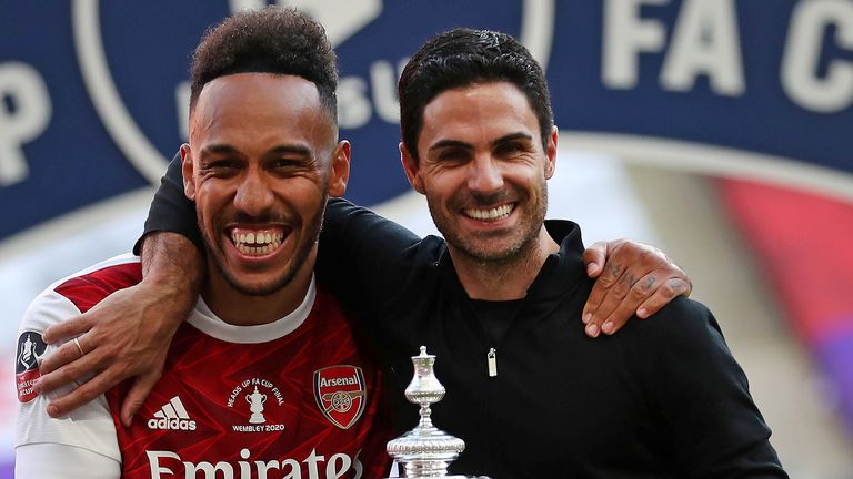 Arsenal manager Mikel Arteta says Saturday's FA Cup final victory over Chelsea was the proudest moment of his career