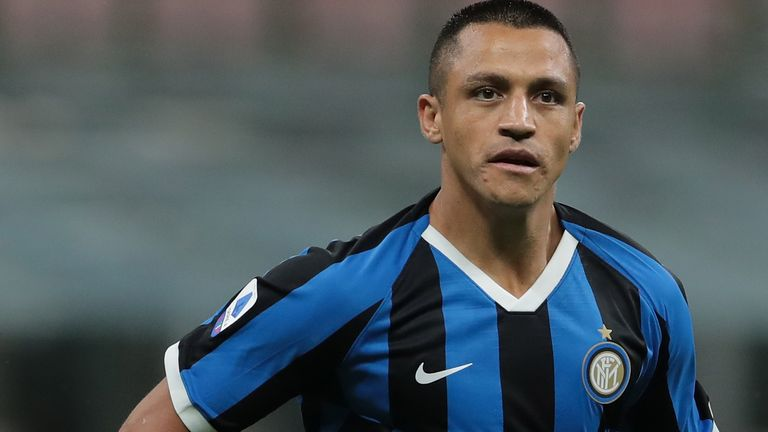 Alexis Sanchez has spent this season on loan at Inter Milan