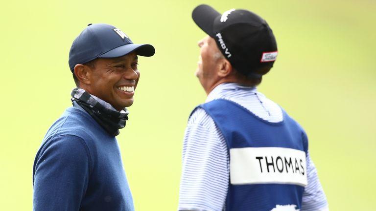 Tiger Woods at the PGA Championship