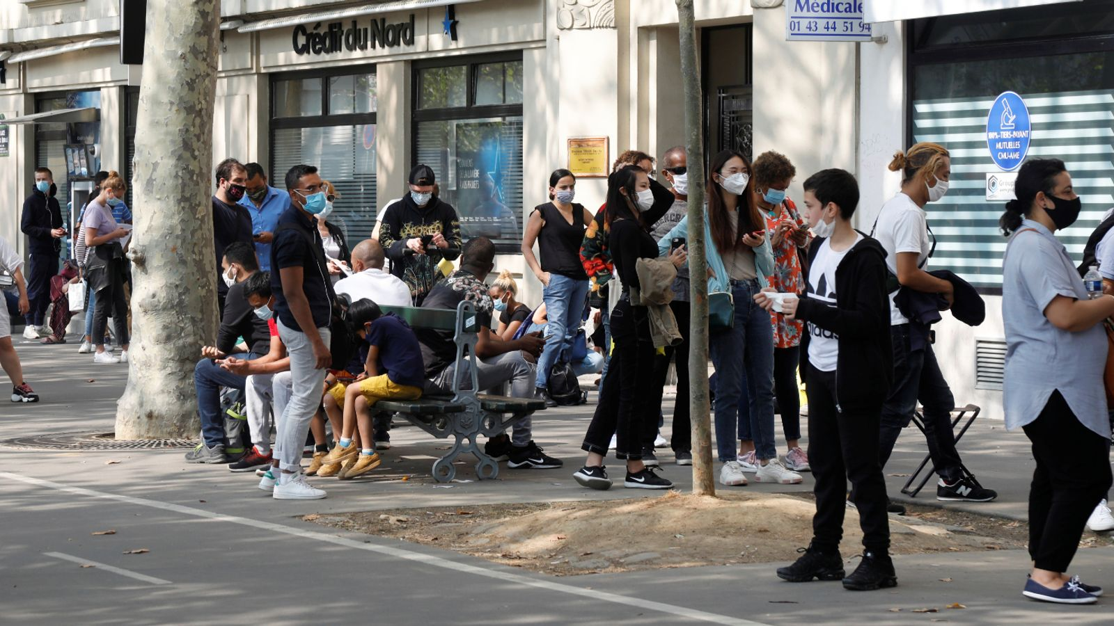 Coronavirus: France reports highest number of daily COVID ...