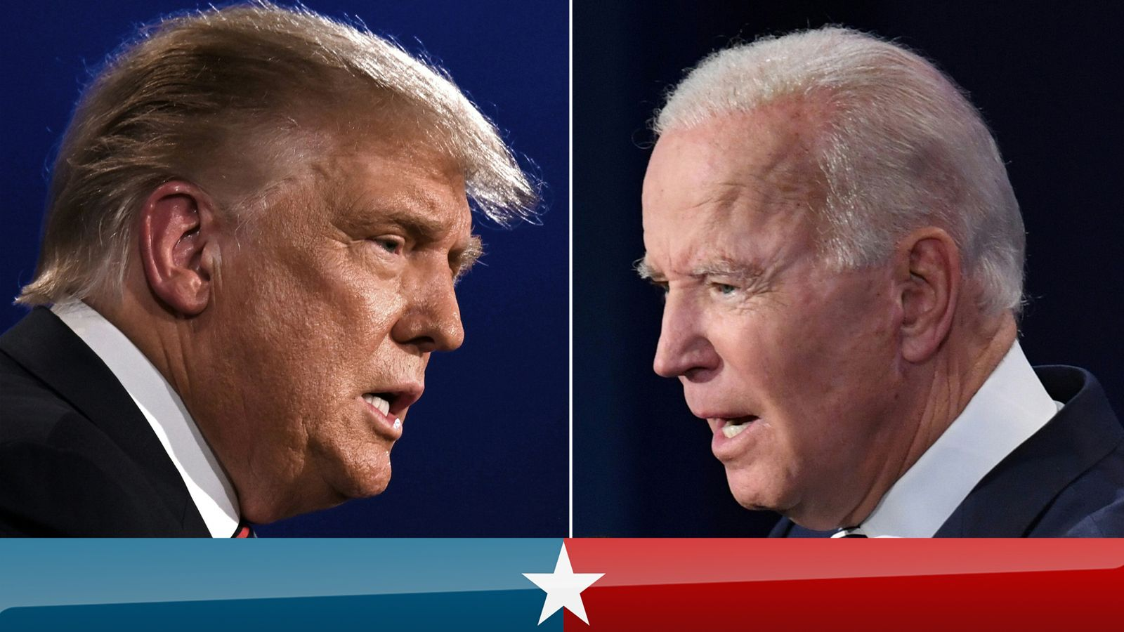 Us Election 2020 Head To Head For The Last Time As Trump And Biden Prepare For The Final Presidential Debate Us News Sky News