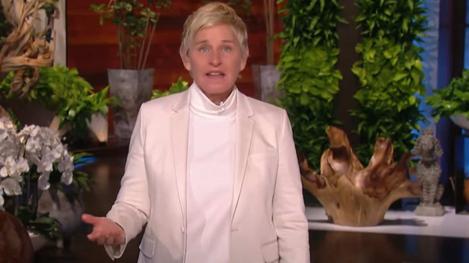 Ellen DeGeneres apologises and says 'things happened that never should have' as TV show returns