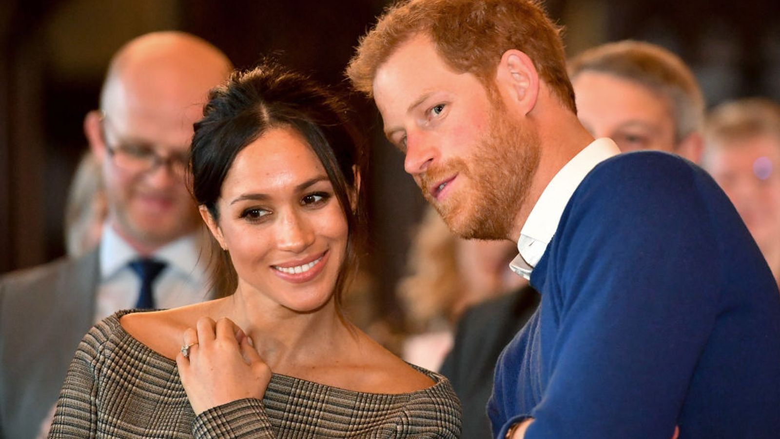 Prince Harry says 'living in Meghan's shoes' taught him unconscious racial bias exists - Sky News