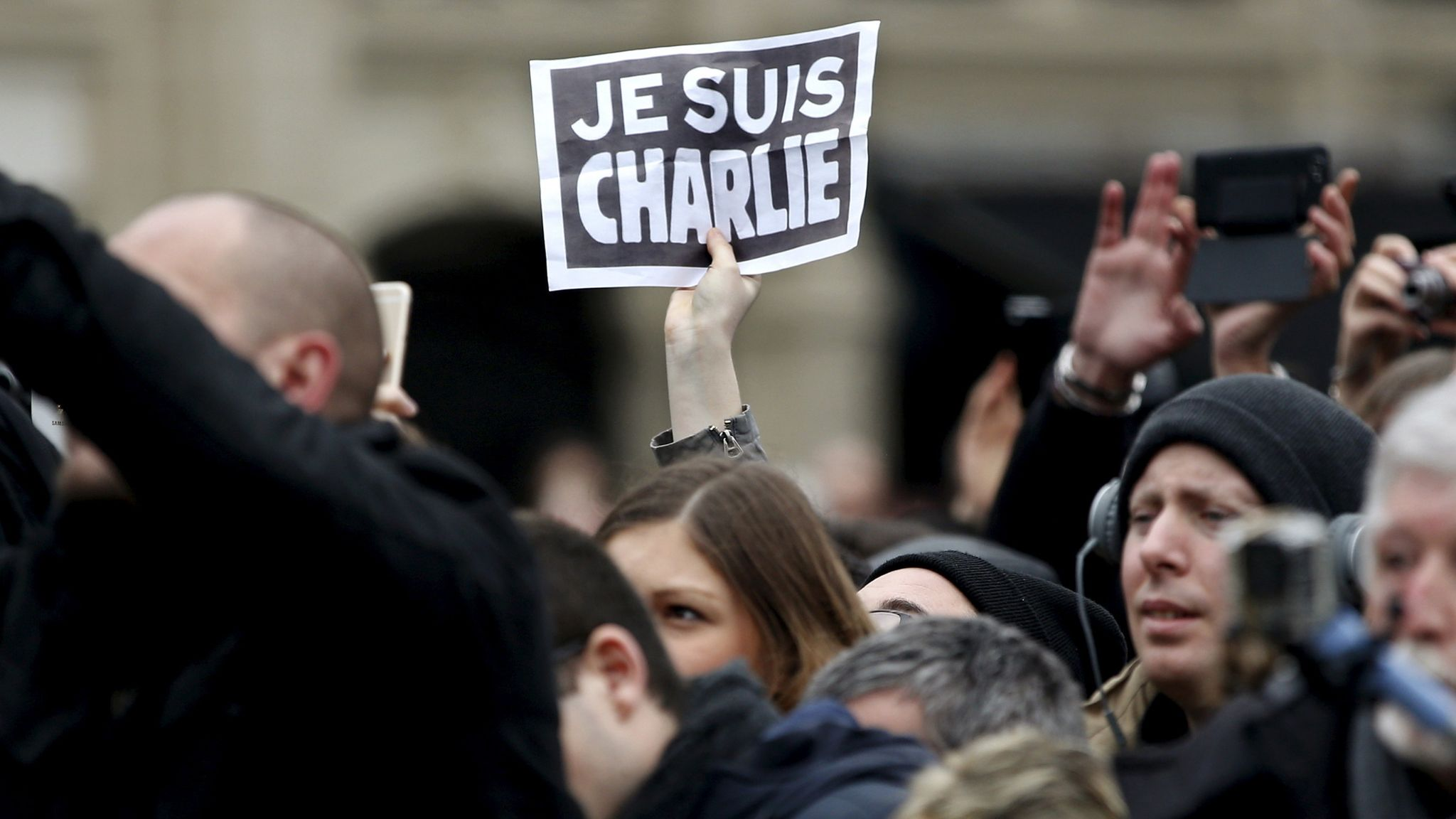 Charlie Hebdo Magazine To Republish Prophet Mohammed Cartoons As Attack Trial Begins World News Sky News