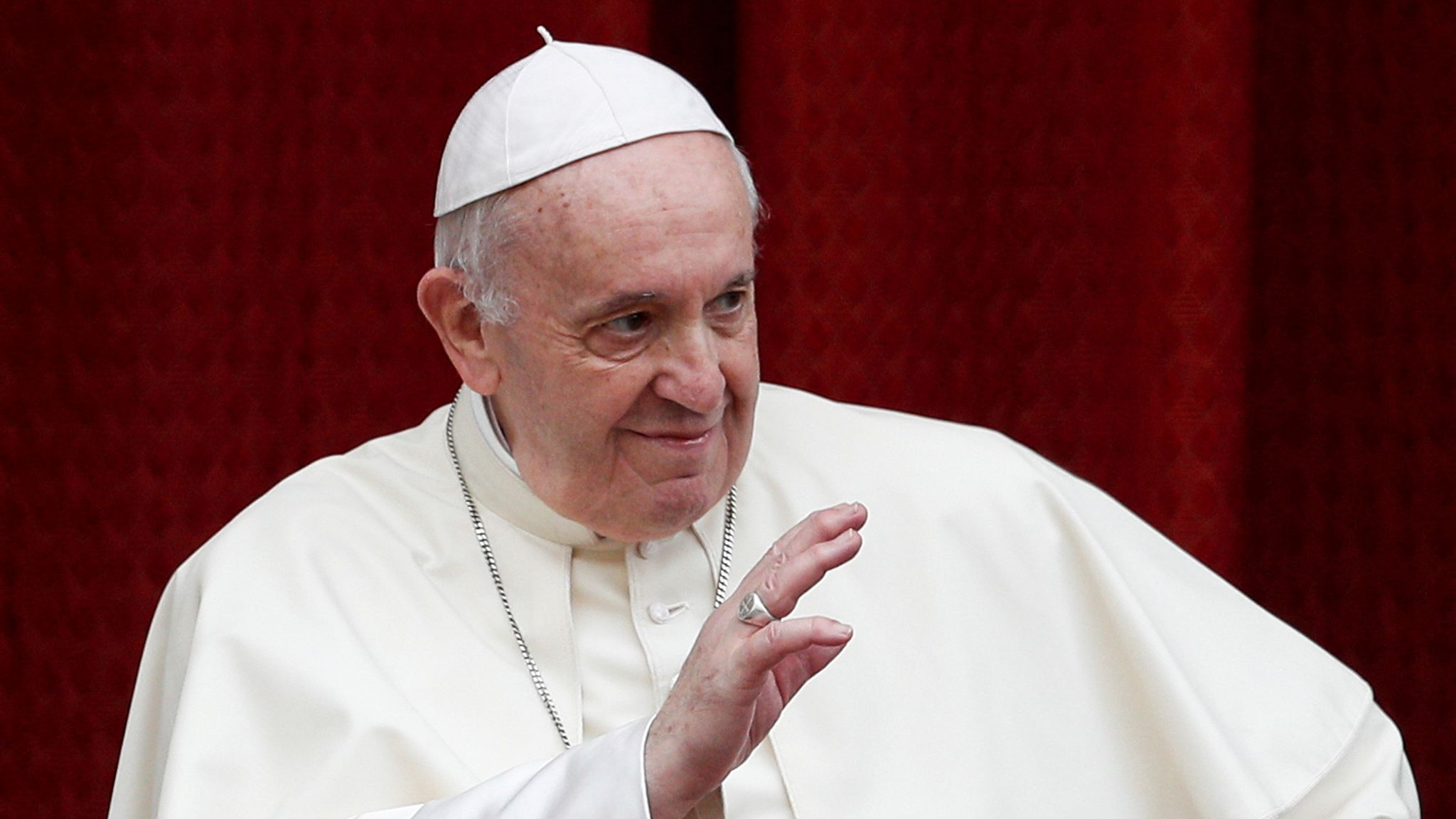 Pope Francis backs same-sex civil unions for first time as pontiff | World  News | Sky News