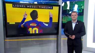 Messi stays at Barcelona: A timeline