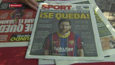 Spanish press react to Messi decision