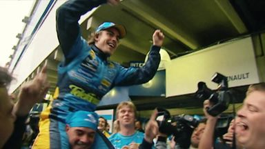 Alonso emotional to come back