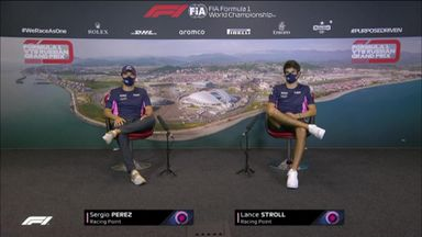 Racing Point: Russian GP press conference