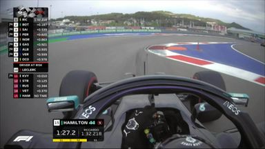 Hamilton just makes Q3
