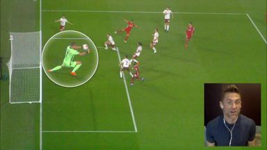 Did Leno make a mistake against Liverpool?