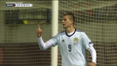 Dykes gets first Scotland goal